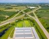 Hoover Highway I-80 Storage | Iowa-Aerial-Drone-Photography.com | InfinityPhotographic.com