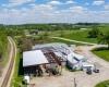 Oxford Sale Barn Construction  | Iowa-Aerial-Drone-Photography.com | InfinityPhotographic.com