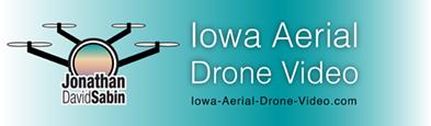 Iowa Aerial Drone Video Logo Jonathan David Sabin